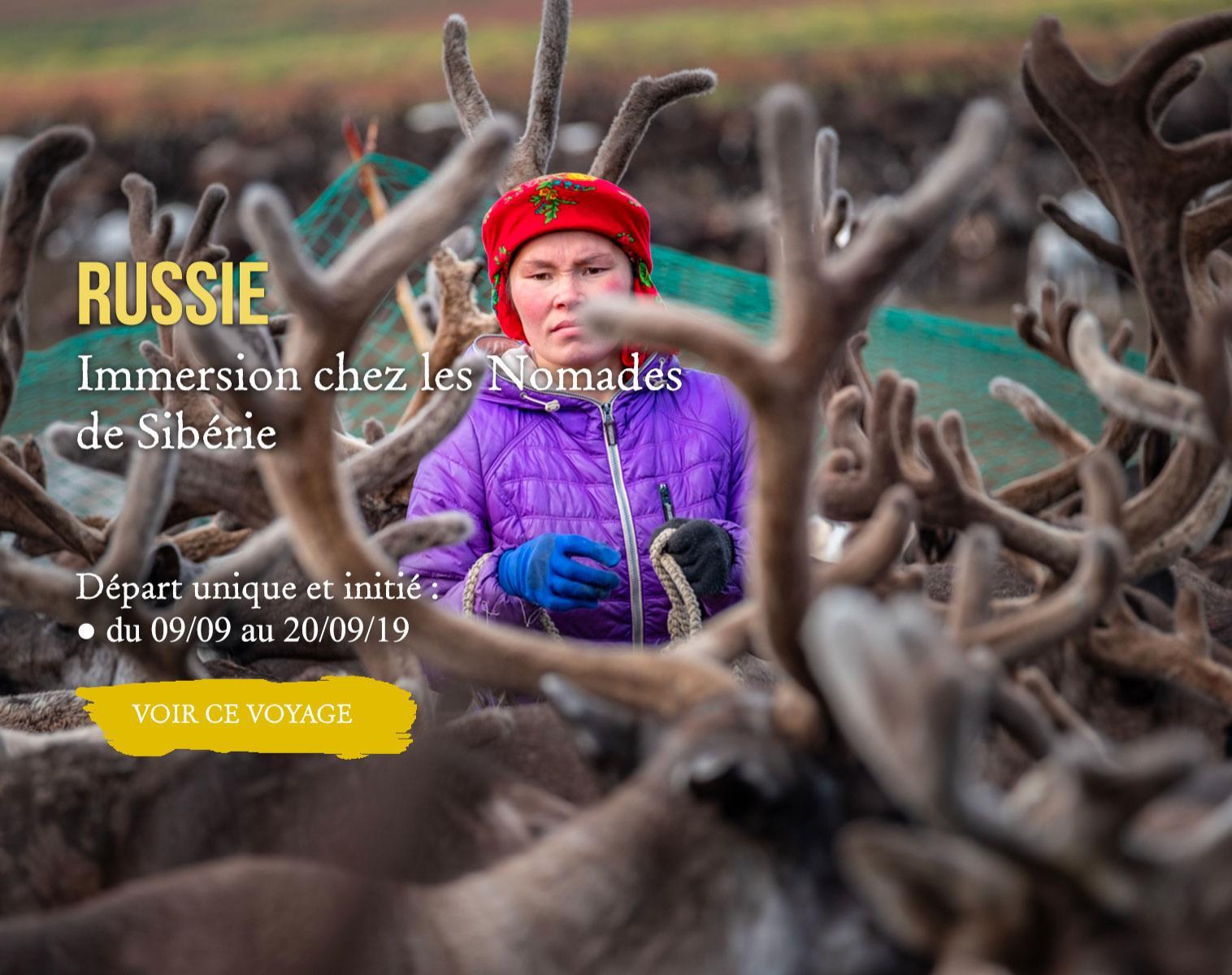 Russie, Immersion chez les Nomades de Sibérie