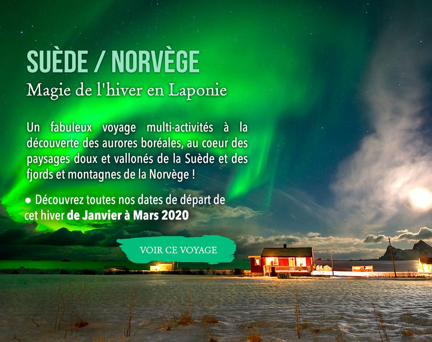 Norvège, Magie de l'hiver en Laponie