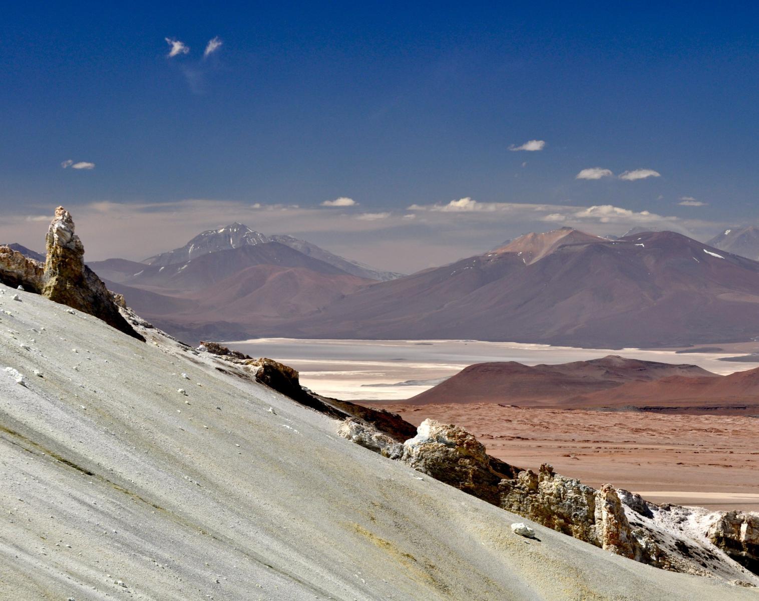 Argentine  Au sommet du Llullaillaco !   Trek & Randonnée