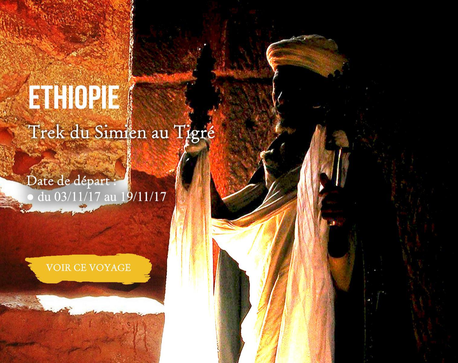 Ethiopie Trek du Simien au Tigré