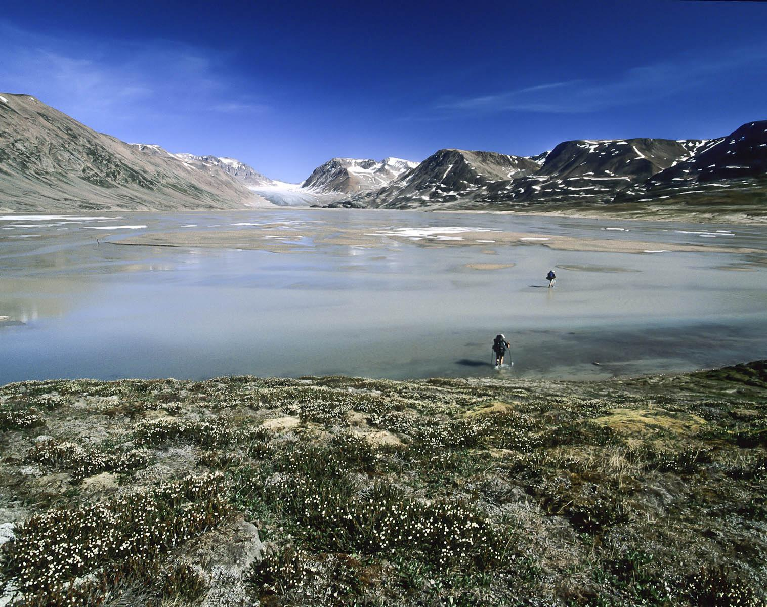 Groenland  Exploration en terre de Liverpool    Trek & Randonnée