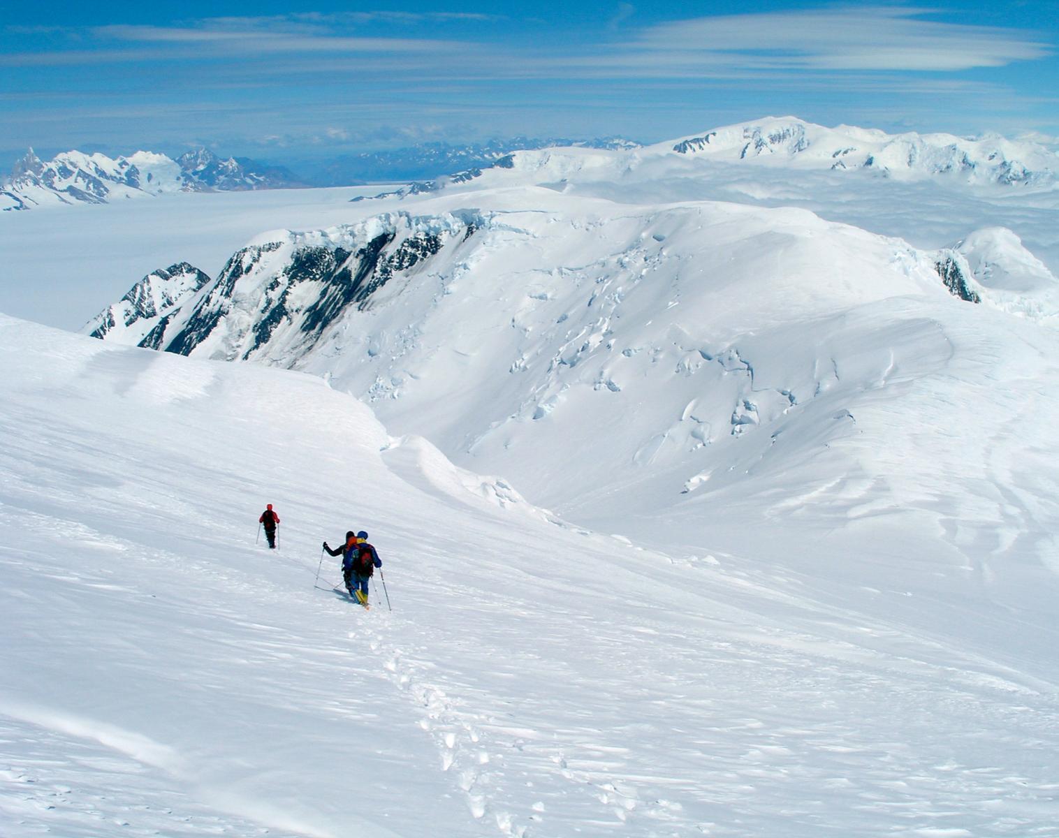 Patagonie  Expédition MAEWAN Sur le Hielo Patagonico Sur : Objectif Lautaro   Ski & Pulka