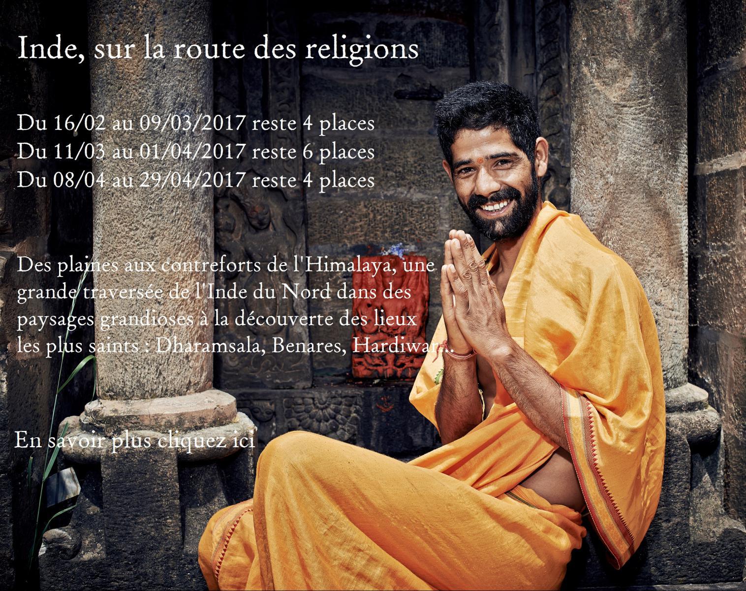 L'Inde, sur la route des religions