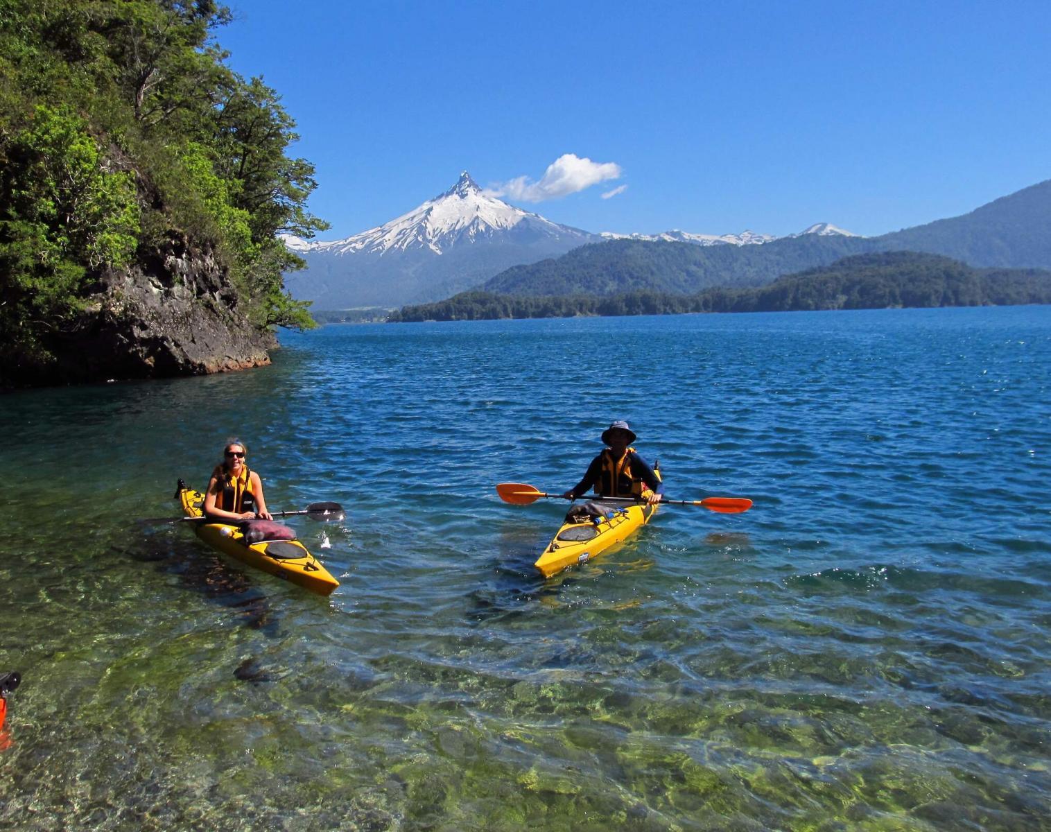 Patagonie  L'Odyssée Andine Etape 7 : Pumalin, la Patagonie au fil de l'eau   Découverte Trek & Randonnée Navigation Balade nature