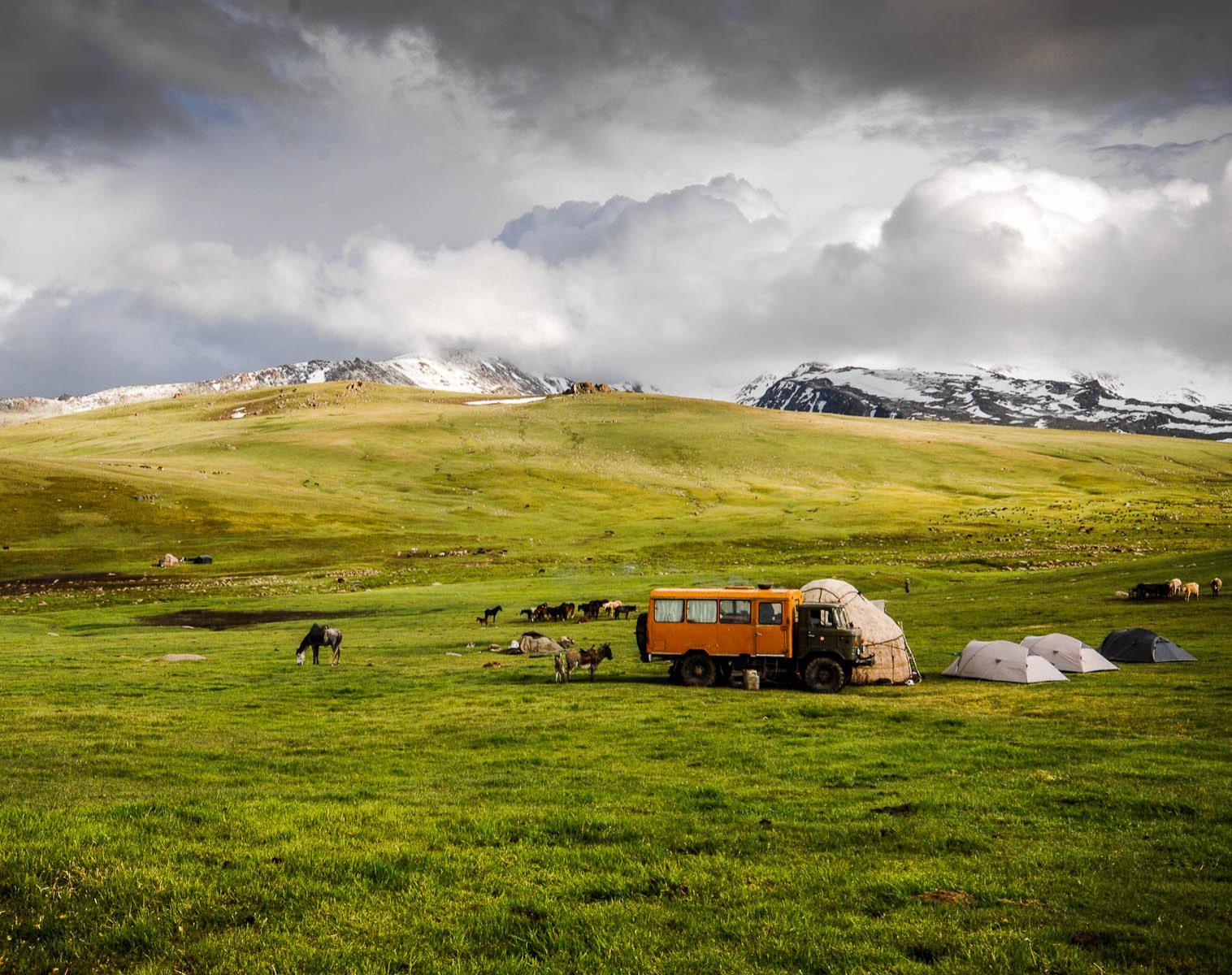 Kirghistan  Le quotidien des Nomades   Découverte Trek & Randonnée