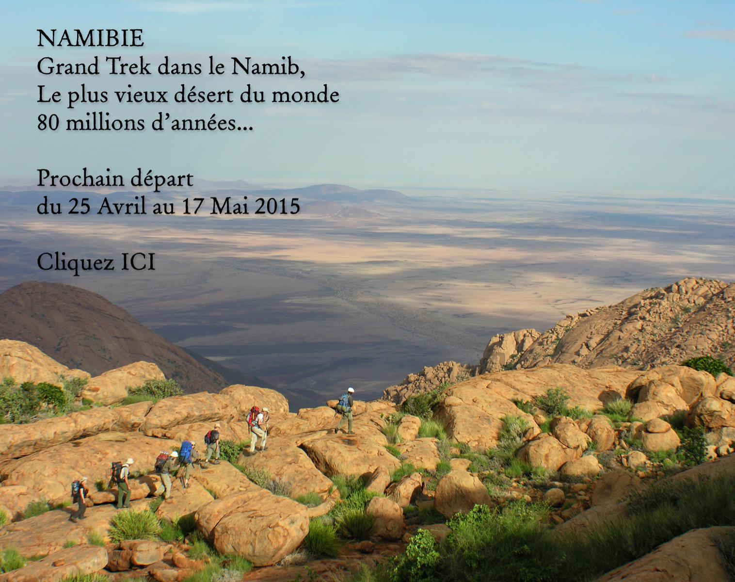 Trek dans le Namib