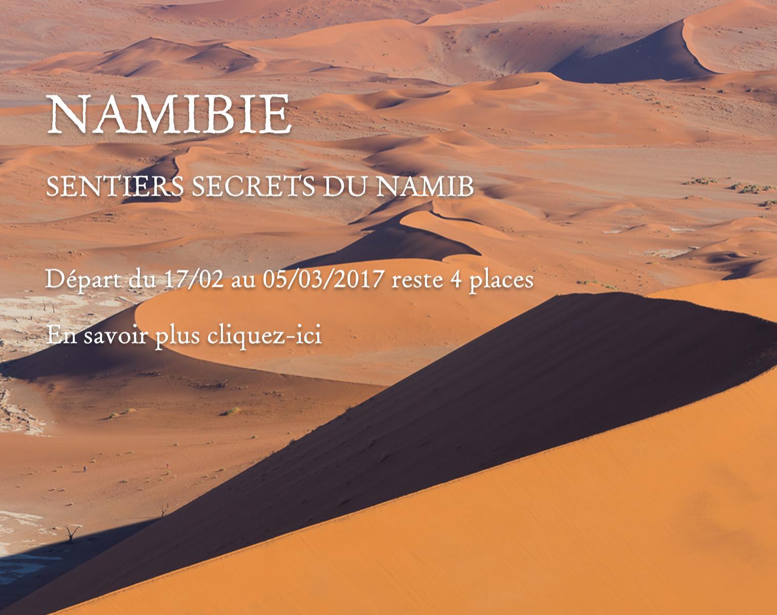 Namibie, Sentiers secrets du Namib