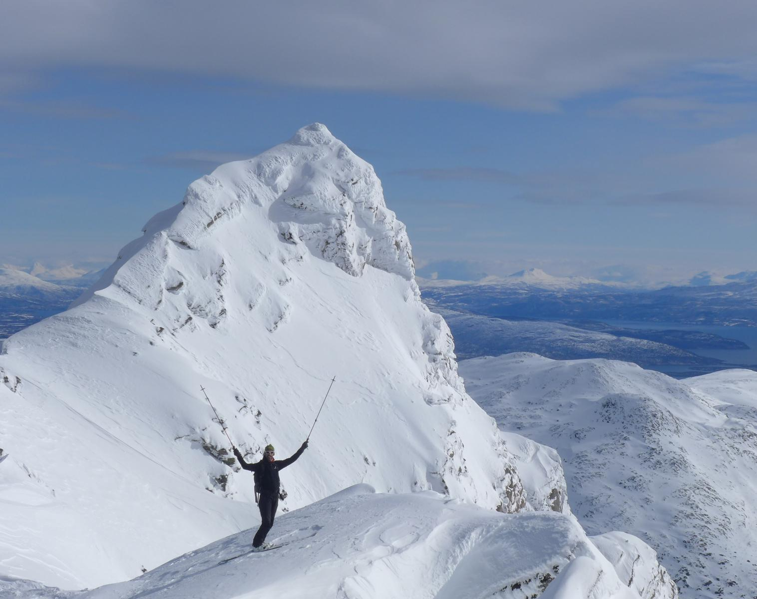 Norvège  Ski de Randonnée sur l'île de Senja   Ski de Randonnée
