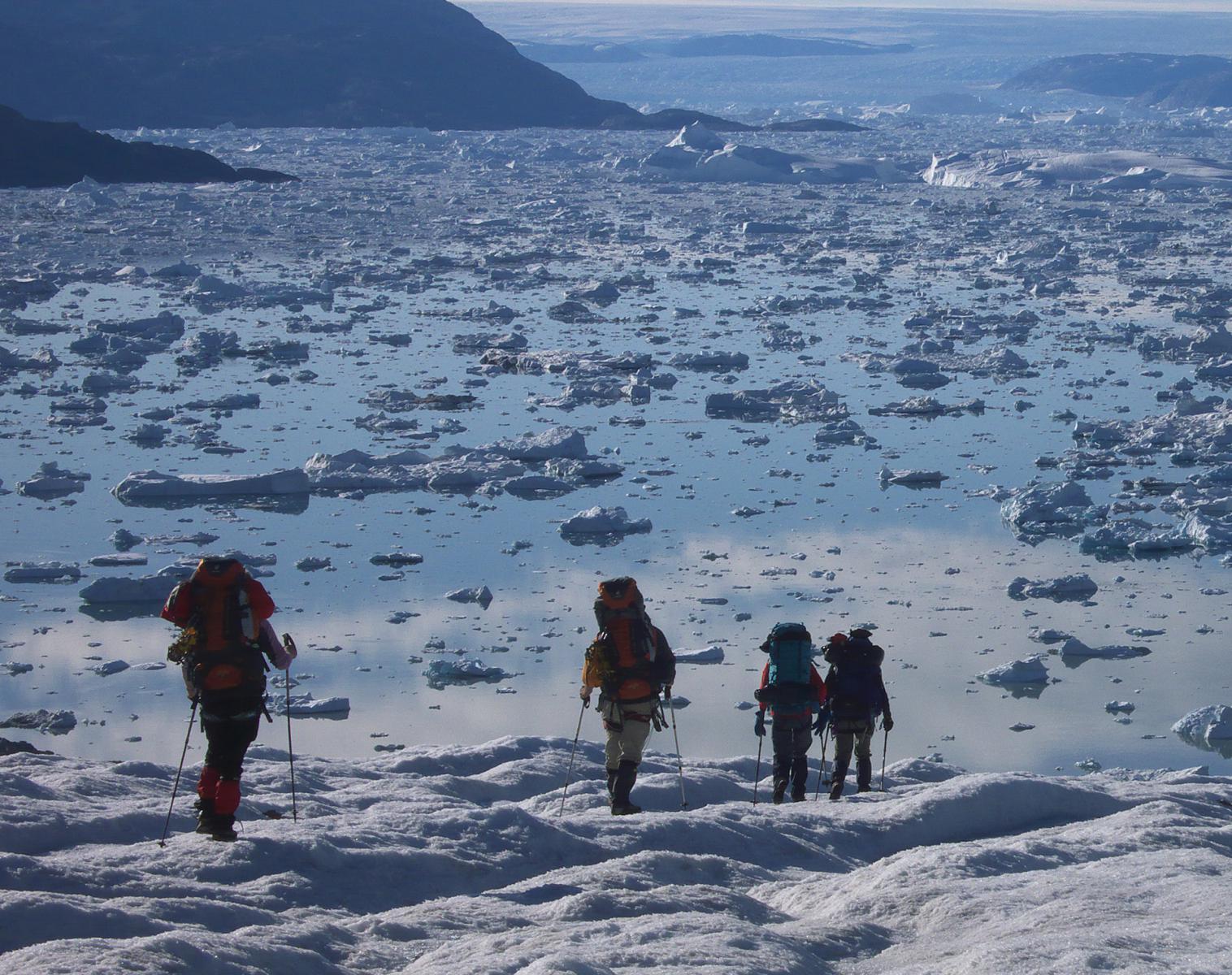 Groenland  Trek aux confins du Schweizerland   Trek & Randonnée