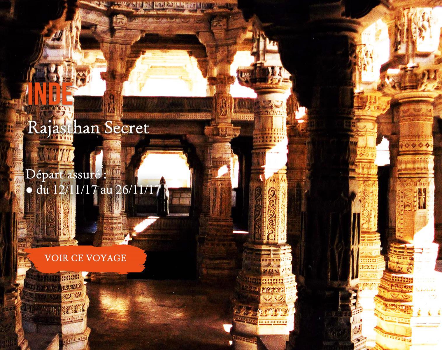 Inde, Rajasthan secret