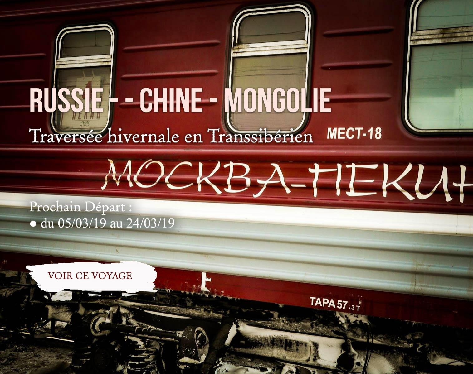 Russie - Chine - Mongolie
