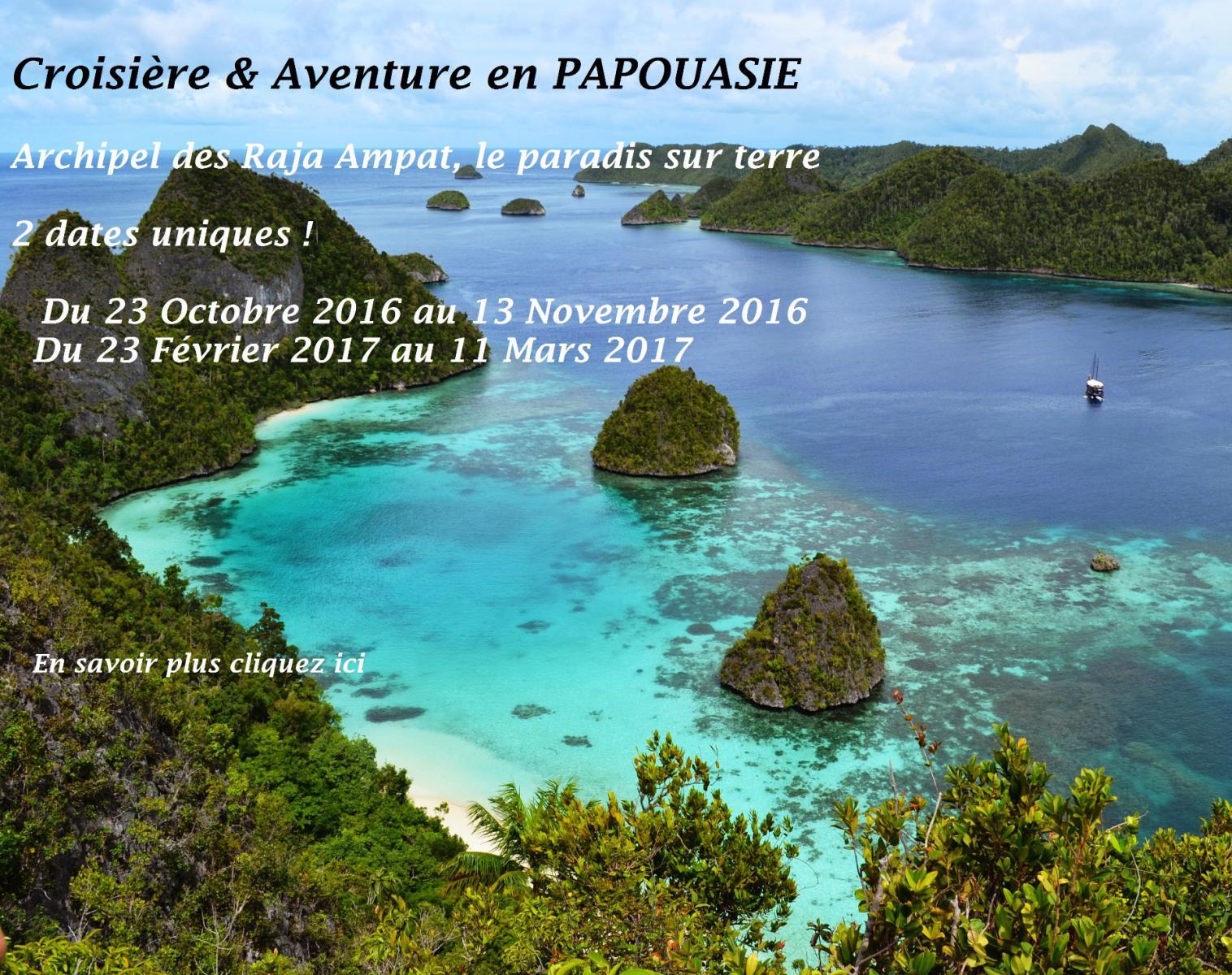 Papouasie l'archipel des Raja Ampat