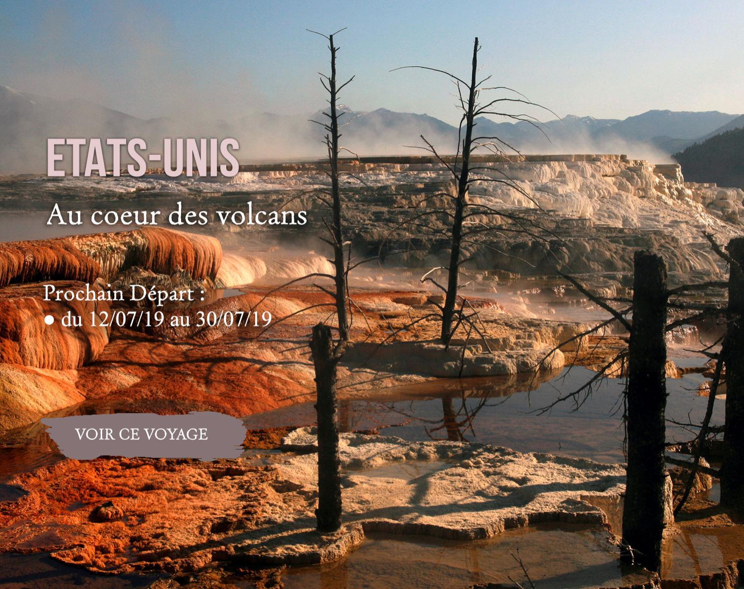 USA, Aux coeur des volcans