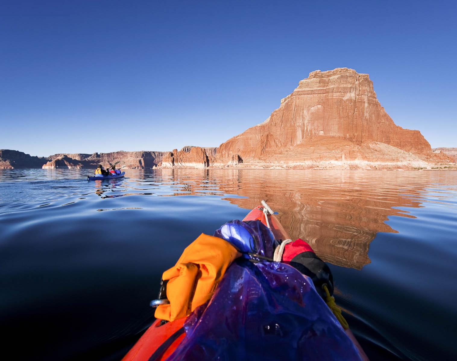 États-Unis  Lake Powell    Kayak & Canoë
