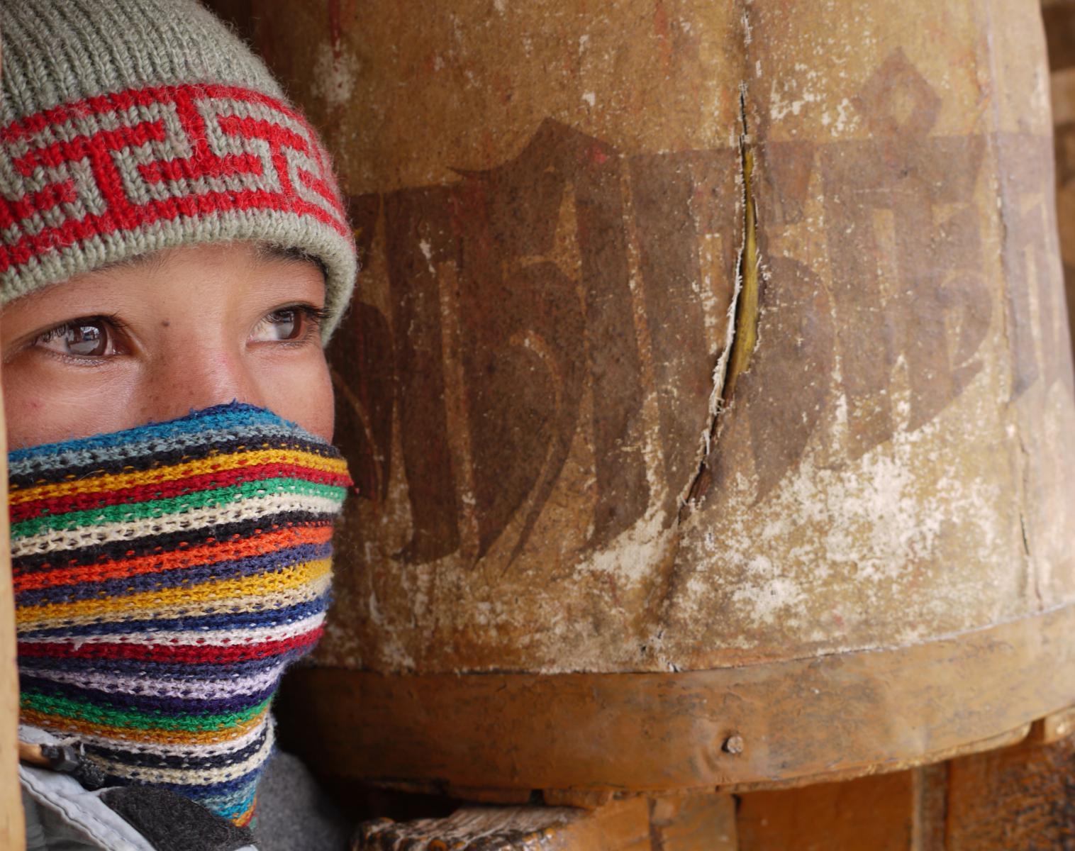 Inde  Tchadar, remontée de la rivière gelée   Trek & Randonnée