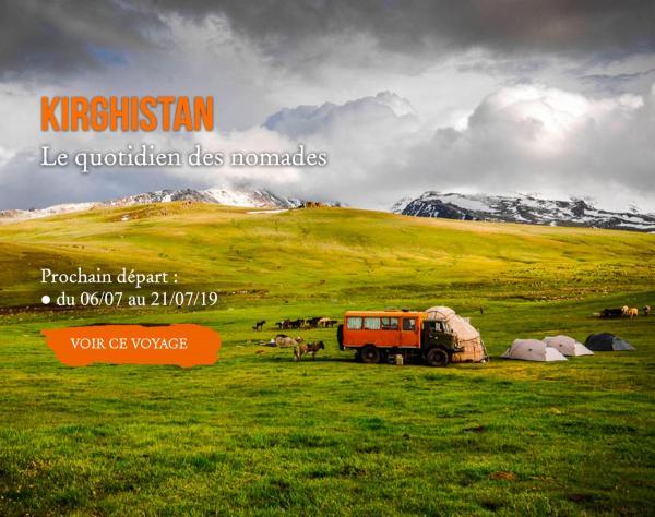 KIRGHISTAN, Quotidien des nomades