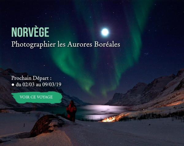 Norvège, photographier les aurores boréales