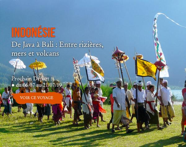 Indonésie, De Java à Bali : entre rizières, mers et volcans