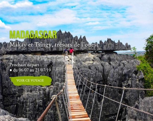 MADAGASCAR, Makay et Tsingy