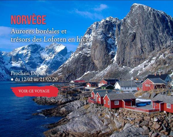 NORVÈGE, Aurores boréales et trésors des Lofoten en hiver