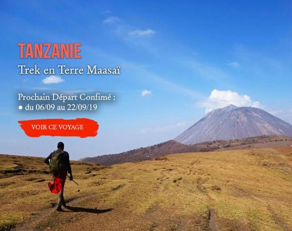 TANZANIE : trek en terre Maasaï