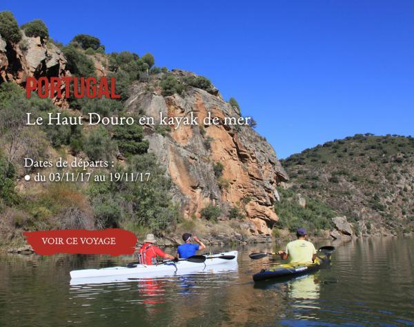 Portugal, le haut douro en kayak