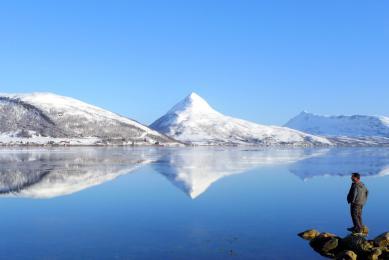 "Norvège ""cercle polaire"" ""ski de rando ""ski de randonnée"" ""aurores boréales"" ""freerando"""