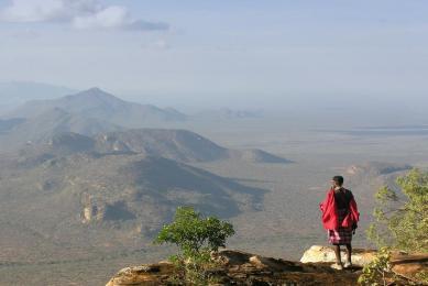 kenya trek safari samburu maasai
