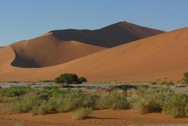 Namibie – Botswana- Zimbabwe : trek dans le désert du Namib - Sossusvlei