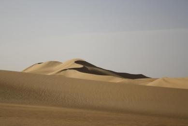 randonnée trek désert blanc - dunes désert  libyque -siwa