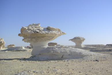 Egypte traversée en randonnée désert blanc - libyque -siwa