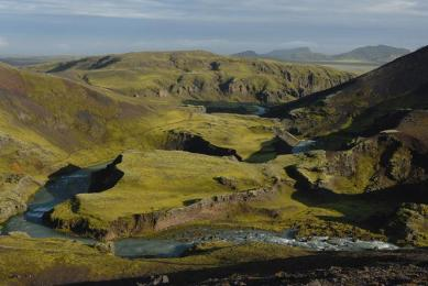 trek exploration Islande