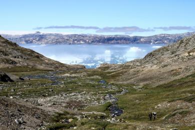 Camp de base trek et kayak fjord Sermilik