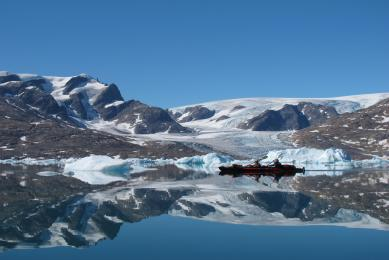 Kayak de mer Groenland Sermilik