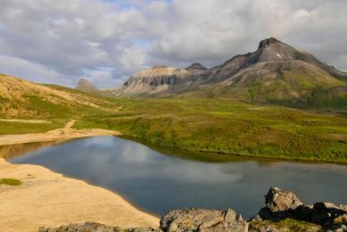Trek autour du lac Myvatn