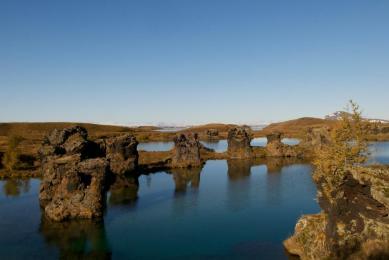 Randonnées autour du lac Myvatn Islande