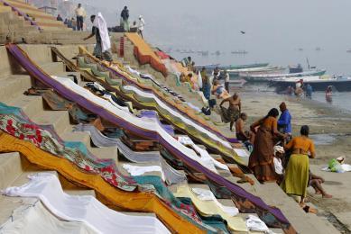 Voyage en Inde navigation le long du Gange balades