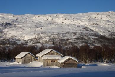 ski pulka Norvège Sorlandet
