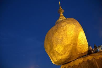 Voyage découverte Birmanie Rocher d'or