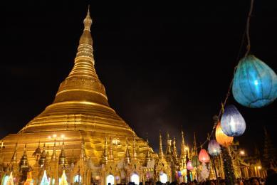 Voyage découverte Birmanie Pagode Shwedagon