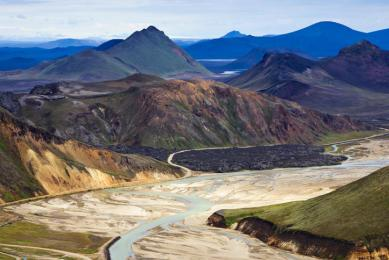 Islande trek Fjallabak