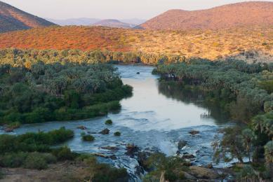 Epupa Falls Kaokoland Pays Himba
