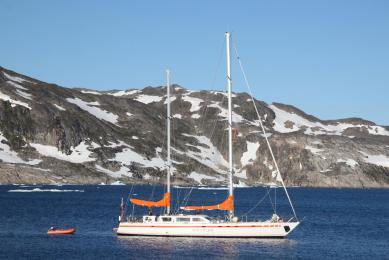 Norvège spitzberg à la voile