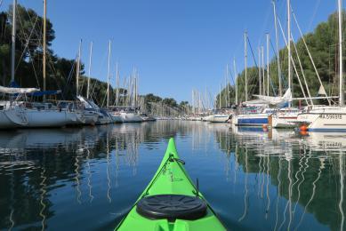 weekend kayak de Mer Marseille