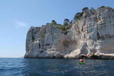 Marseille vieux port en kayak de Mer