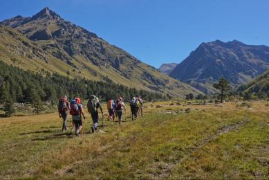 trek caucase russie