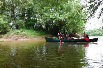 Canoë et bivouacs sur la Loire
