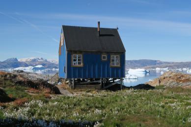 Trek et kayak au Groenland