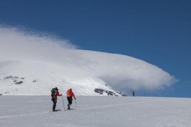 il de jan mayen ski voile Norvége