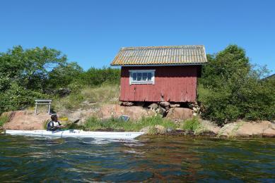 Itininérance en kayak de mer dans l'archipel d'Aland en Finlande